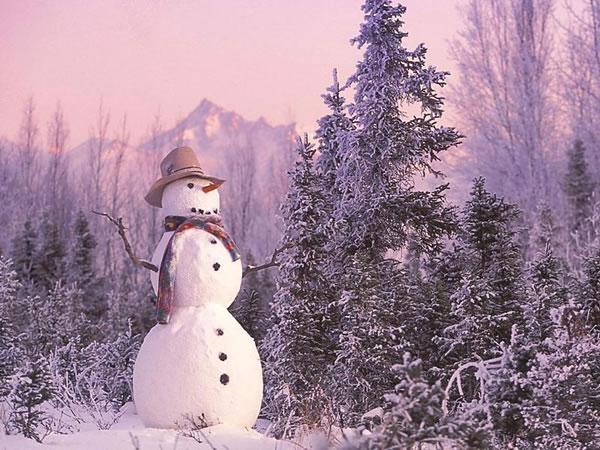 2013年的第一场雪
